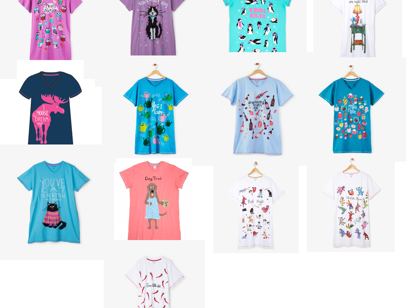 Sleep Shirts by Hatley