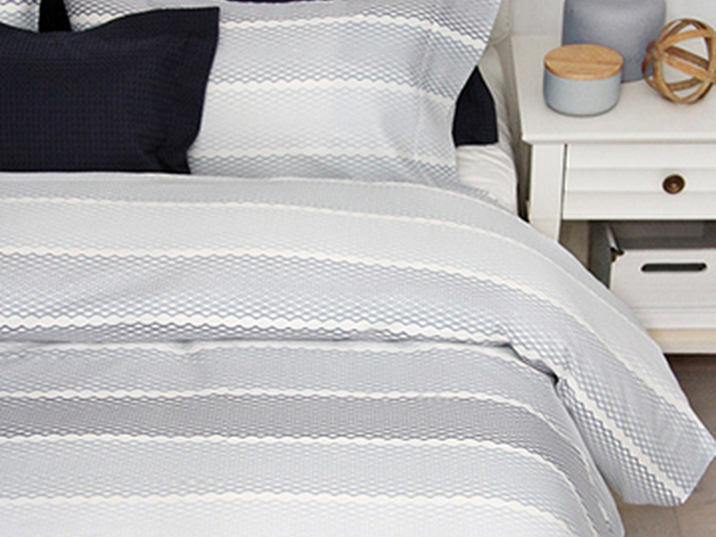# Stripe Bedding <br>by Cuddle Down