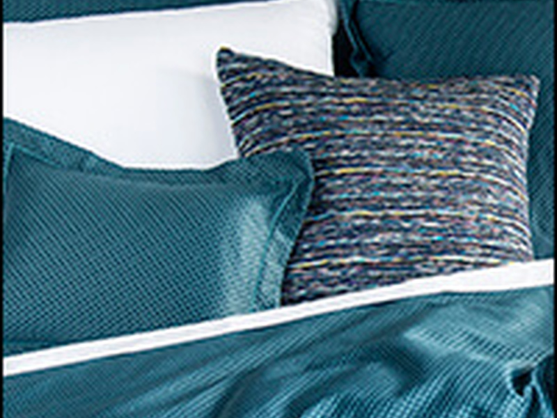 Tie Teal Bedding <br>by Revelle