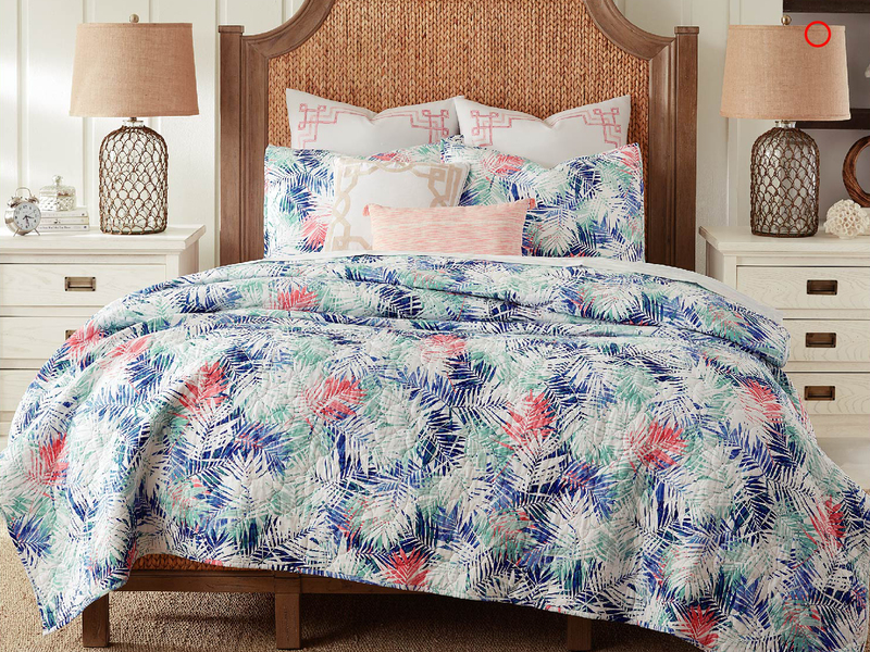 Tropicana Quilt <br>by Peace Arch