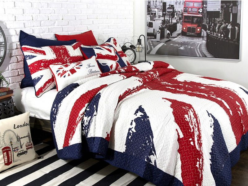 Union Jack Quilt <br>by Alamode