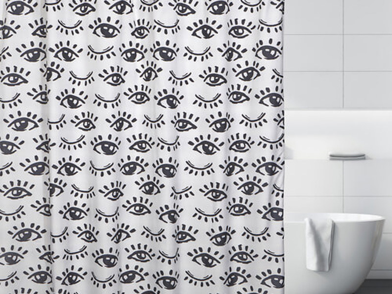 Winking Eye <br>Shower Curtain