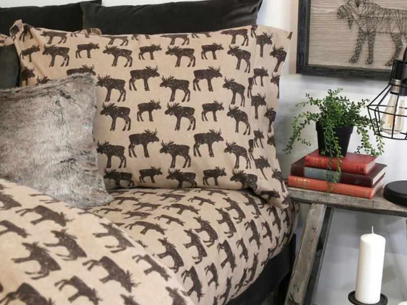 Woodland Flannel Bedding by Alamode