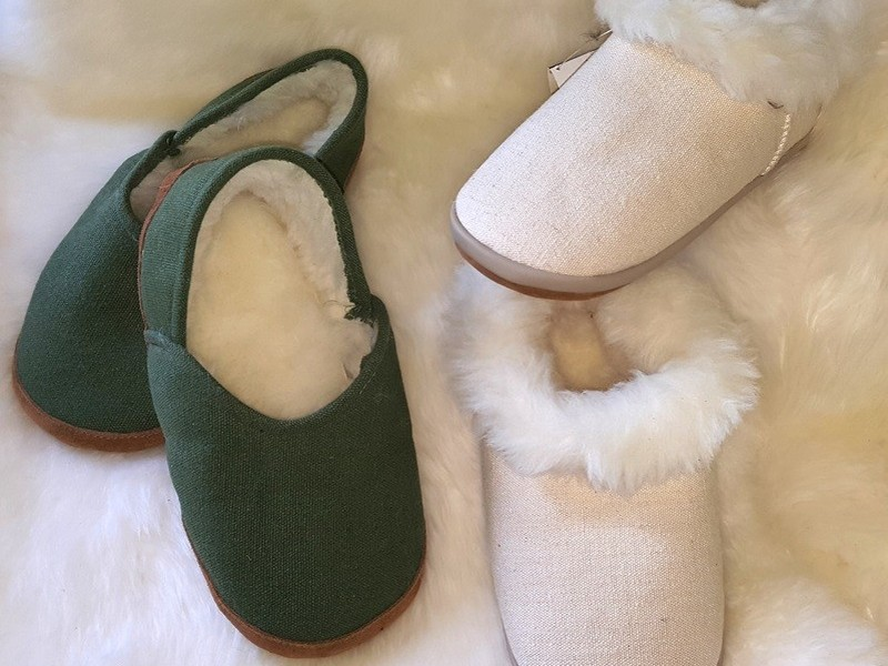 Wool & Hemp Ankle Slipper