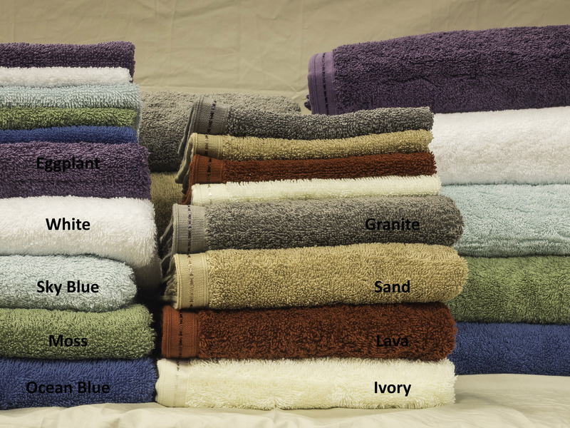 Dorm Bedding - Organic Cotton Towel Set