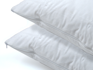 2 Pack Cotton Pillow Protectors by Daniadown