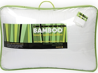 Natural Bamboo Pillow <br>by Century Home