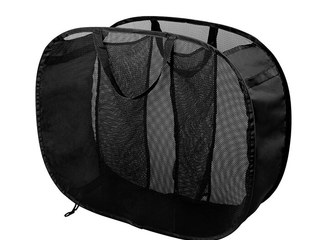 3 Compartment Mesh Hamper