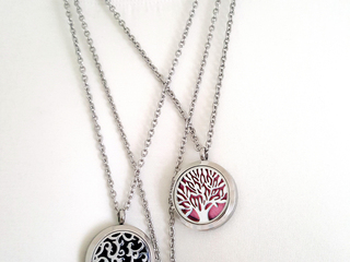 Aromatherapy Locket Necklace