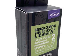 Bamboo Charcoal Deodorizer 2pk <br> By Relaxus