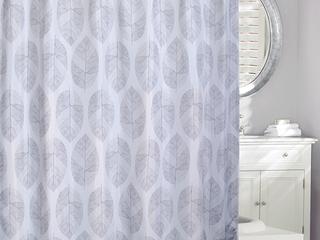 A La Mode BrShower Curtain