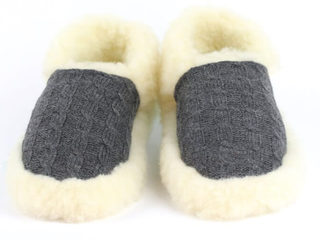 Aran Wool Slippers