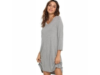 Bamboo Sleeved Nightdress