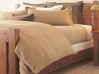 Camel Heather Bedding<br> by Dormisette Flannel