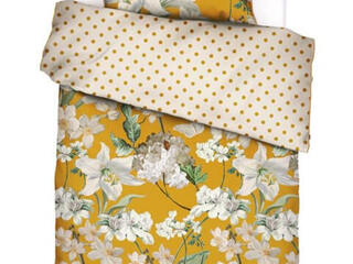 Rosalee Mustard Bedding by Essenza