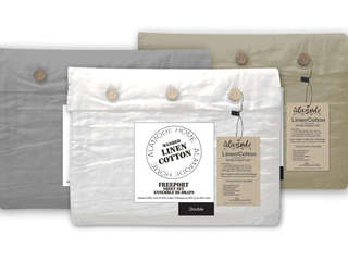 Freeport Linen Cotton Sheets <br>by Alamode