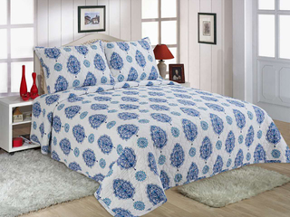 Gentian Quilt <br>by Peace Arch