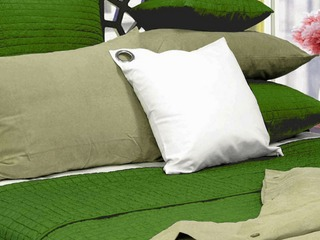 Geo Green Quilt <br>by Alamode