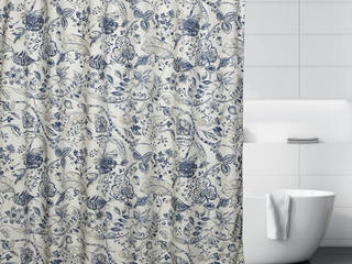 Georgian Garden <br>Shower Curtain