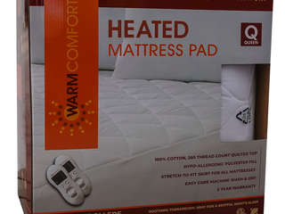 Warm Comfort Heated Mattress Pad