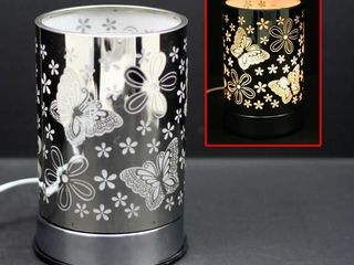 Silver Butterfly Touch Lamps