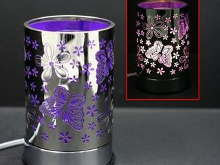 Purple Butterfly Touch Lamps