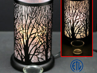 Black Forest Touch Lamps