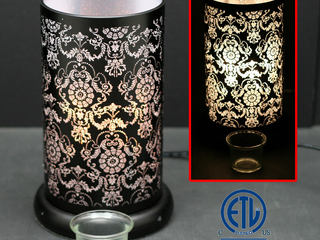 Black Lotus Touch Lamps