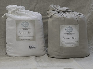 Linen Cotton Sheets <br>by Modern Antiquity