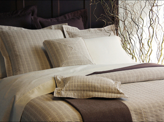 Linen Weave Matelasse Bedding by Revelle