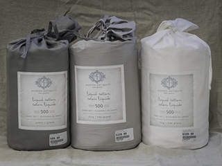 Liquid Cotton Sheets <br>by Modern Antiquity