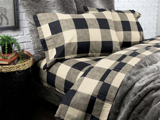 Loxley Flannel Sheets <br>by Alamode