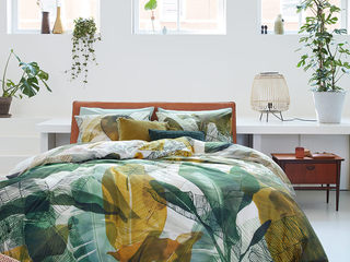 Musa Green Bedding by Brunelli