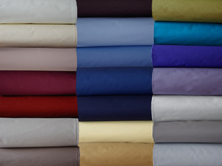 Percale Deluxe Sheets <br>by Cuddle Down