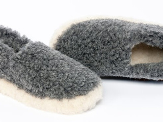 Siberian Wool Slippers
