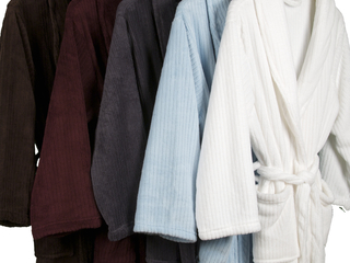 Ultra Plush Striped Robes