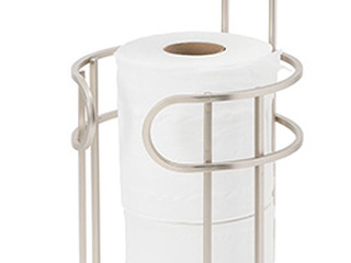 Toilet Paper Holder/Dispenser with Tray