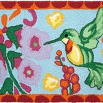 Hummingbird Jelly Bean Rug