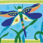 Dragonfly Jelly Bean Rug