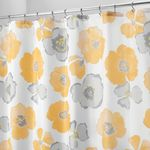 Poppy Shower Curtain by Interdesign