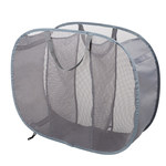3 Compartment Mesh Hamper by Woolite