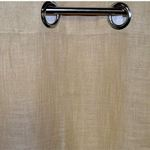 Beige Linen Look Curtains by Nostalgia
