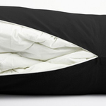 Black Berwick Bolster Duvet Storage by Alamode Home