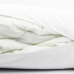 White Berwick Bolster Duvet Storage by Alamode Home