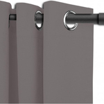 Grey Berwick Curtains by Alamode Home
