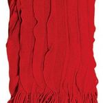 Red Cascade Throw by Alamode Home