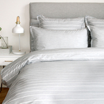 Chambray Grey Bedding by Cuddle Down