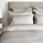 Chambray Taupe Bedding by Cuddle Down