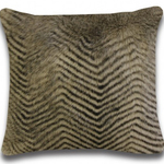 Taupe Chinchilla Cushions by Alamode Home