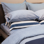Monaco Navy Bedding by Cuddle Down